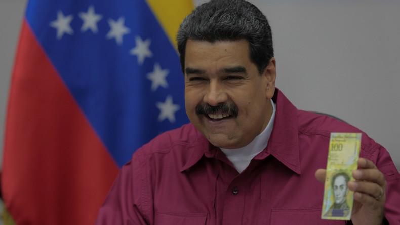 Venezuela bringt 100.000-Bolivar-Scheine in Umlauf