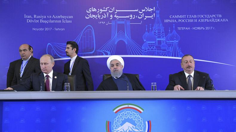 Putin: Gute Zusammenarbeit mit dem Iran in Bereichen, die kein Land allein lösen kann