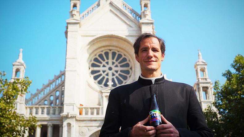 Bier soll Kirche retten: Pfarrer aus Brüssel eröffnet Braugeschäft für guten Zweck