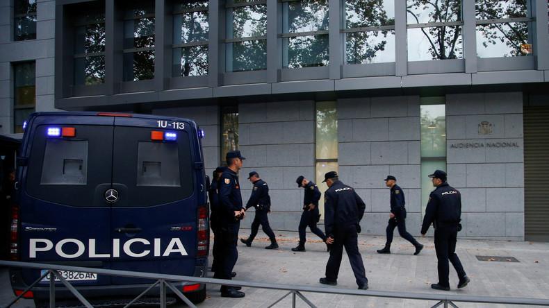 Spanien: Erste Anhörungen zur Anklage gegen katalanische Regierungsmitglieder ohne Puigdemont