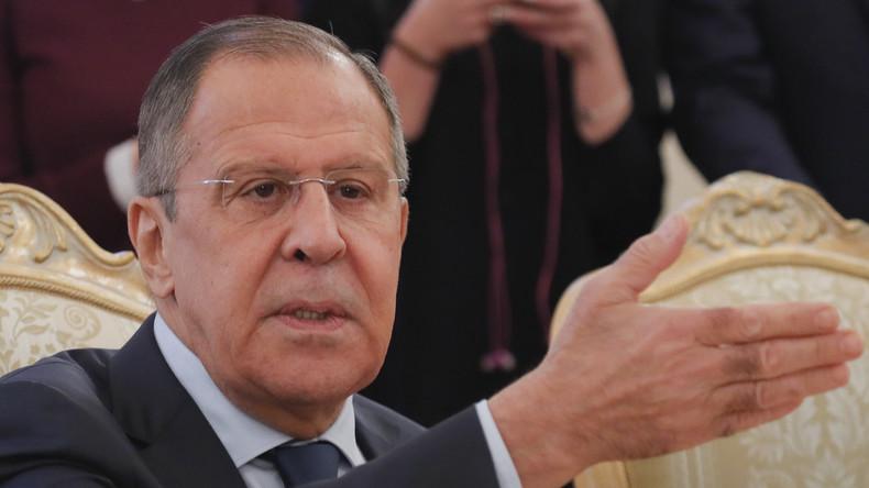 LIVE: Pressekonferenz des russischen Außenministeriums zum OPCW-Bericht über Chemie-Waffeneinsatz