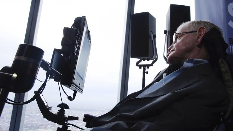 """Professor Stephen Hawking: """"Die künstliche Intelligenz wird den Menschen insgesamt ersetzen."""""""