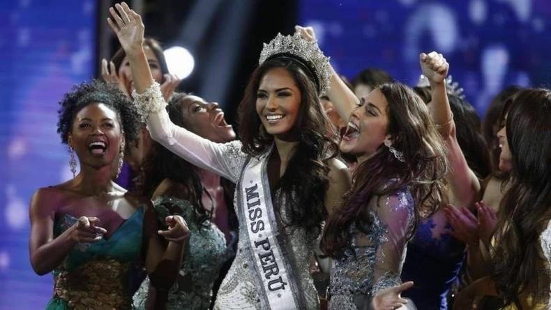 """Protest bei der Wahl zur """"Miss Peru"""" sorgt für Furore im Netz"""