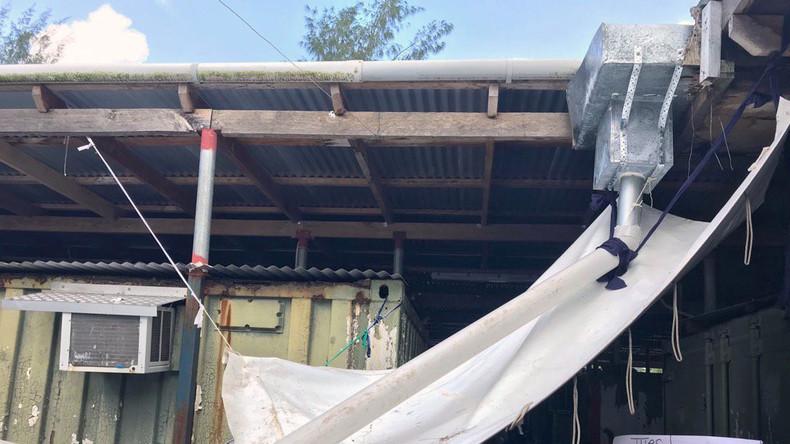 Flüchtlinge in Manus sammeln Regenwasser - UN fordert Australien zu Hilfe auf