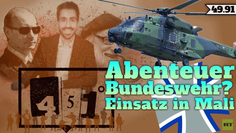 451 Grad | Bundeswehr-Doku | Deutsche Soldaten in Afrika | 49.91