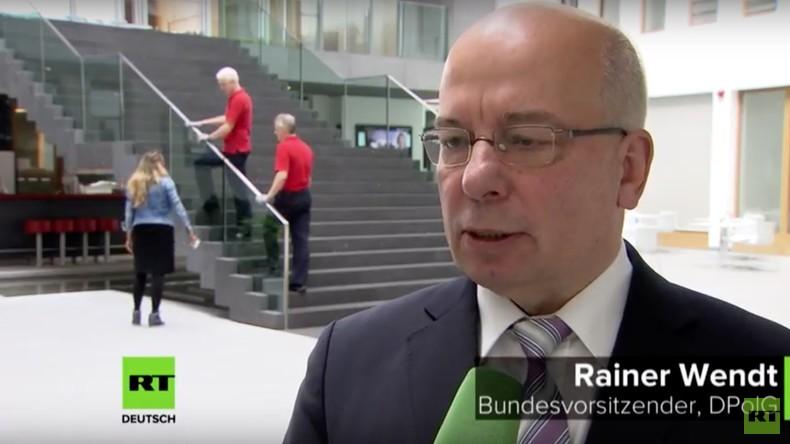 Chef der Polizeigewerkschaft Rainer Wendt: Der Rechtsstaat funktioniert nicht, wie er sollte [Video]