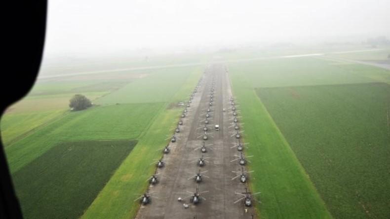 """Gegen """"russische Aggression"""": 89 neue US-Hubschrauber und 1.900 Soldaten erreichen Deutschland"""