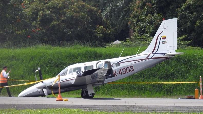 Kolumbien: Pilot landet sein Flugzeug auf der Nase, um Passagiere zu retten
