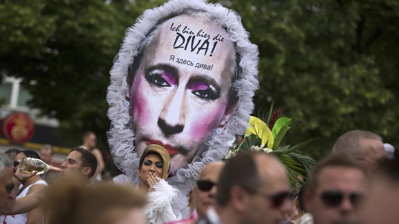 """Ideologisierung der Geopolitik: """"Homophob sind nur die Russen!"""""""