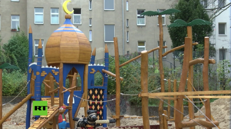 Islamisierung oder nur orientalische Märchenwelt? - Spielplatz in Neukölln wird zum Streitobjekt