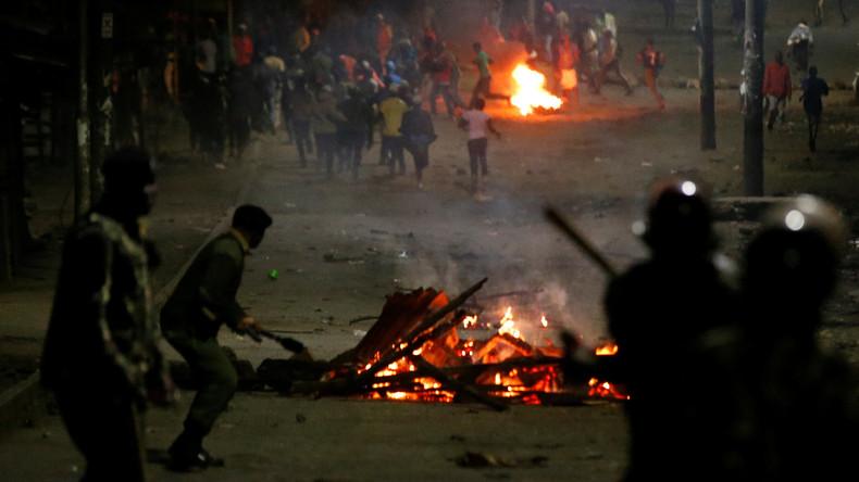 """""""Unverhältnismäßige Gewalt"""": Menschenrechtler melden 54 Todesopfer bei Präsidentenwahlen in Kenia"""