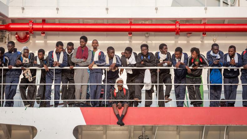 Viele Tote bei Flüchtlingsunglück im Mittelmeer