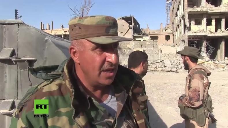 Syrische Truppen erobern Deir ez-Zor vom Islamischen Staat zurück