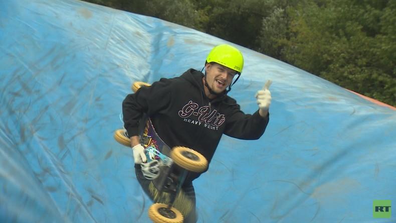 Mountainboard: Sommer-Snowboard oder Skateboard fürs Gelände?