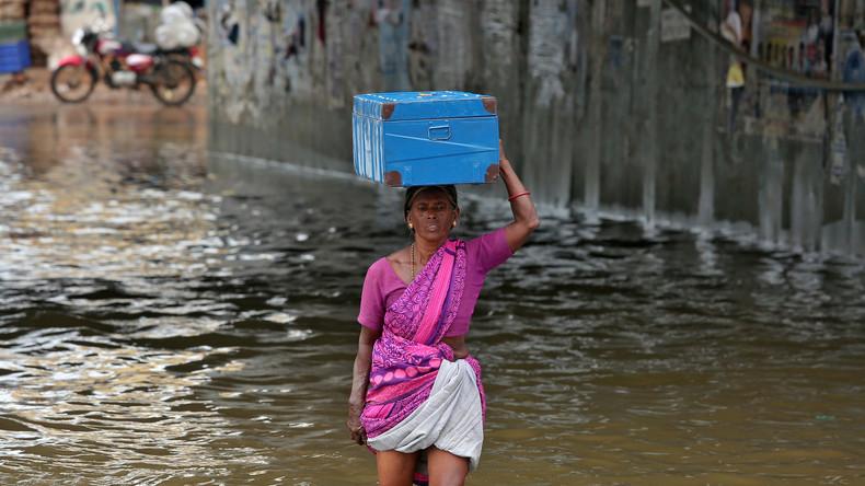 Monsun-Unwetter in Südindien fordern zwölf Todesopfer