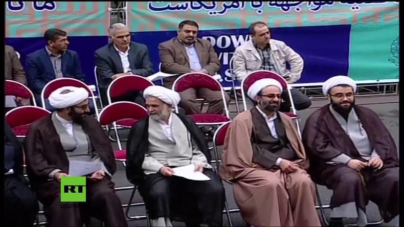Iran: Tausende gedenken der Bestzung der US-Botschaft in Teheran