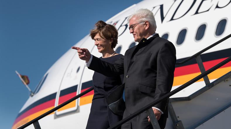 Frank-Walter Steinmeier beginnt Staatsbesuch in Neuseeland