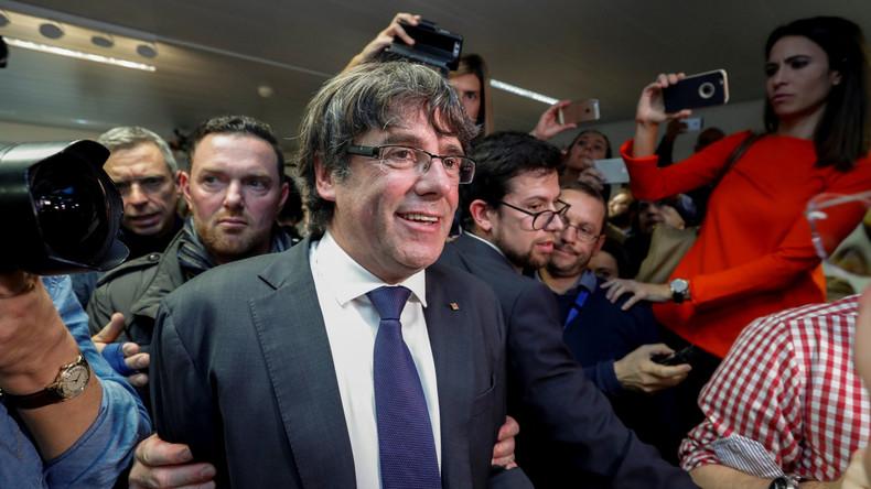 Belgien: Carles Puigdemont gegen Auflagen vorerst auf freiem Fuß