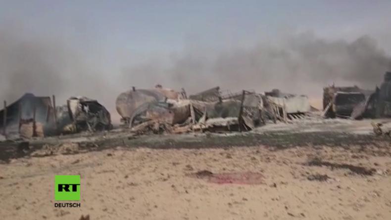 Syrien: IS zündet Autobombe inmitten von Flüchtlingen, tötet Dutzende - auch viele Frauen und Kinder