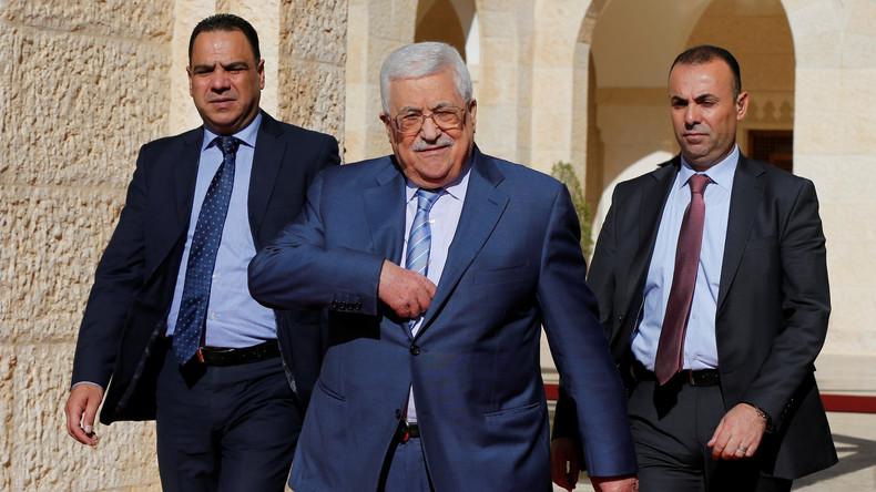 Palästinensischer Präsident überraschend zu Besuch in Saudi-Arabien