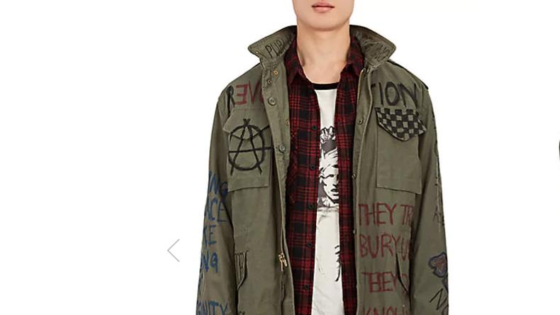Weihnachtsgeschenk für betuchte Salonrevolutionäre: Die Luxus-Antifa-Jacke