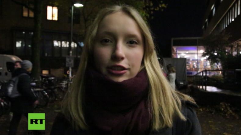 Studenten der Universität Hamburg äußern sich zu neuem religiösen Verhaltenskodex und zur Burka