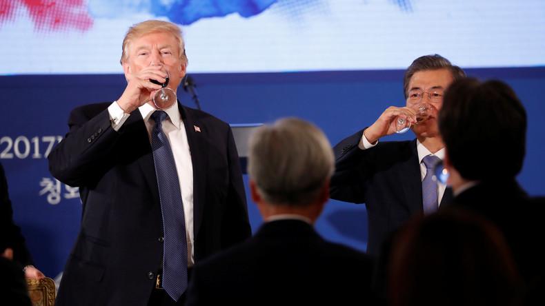 Trump in Asien: Der US-Präsident als Handelsreisender in Sachen Waffen [Video]