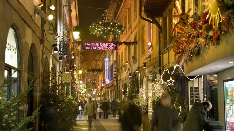 Auch Plan B fehlgeschlagen: Schon der zweite Weihnachtsbaum bricht unter Druck in Straßburg