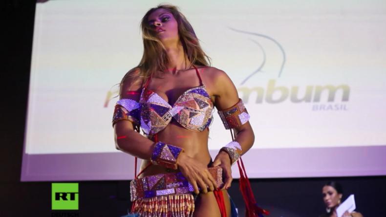 """Verführerische Tänze bei """"Miss Bumbum""""-Wahl 2017: Sie hat den schönsten Po Brasiliens"""