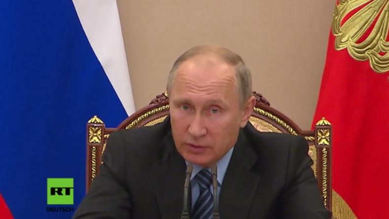 Putin: Konfliktzonen wie Syrien sind ein profitables Business für internationale Waffenhändler