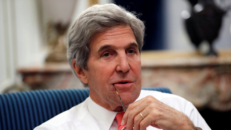"""Ton-Aufnahmen des ehemaligen US-Außenministers Kerry aufgetaucht – """"Israel will keinen Frieden"""""""