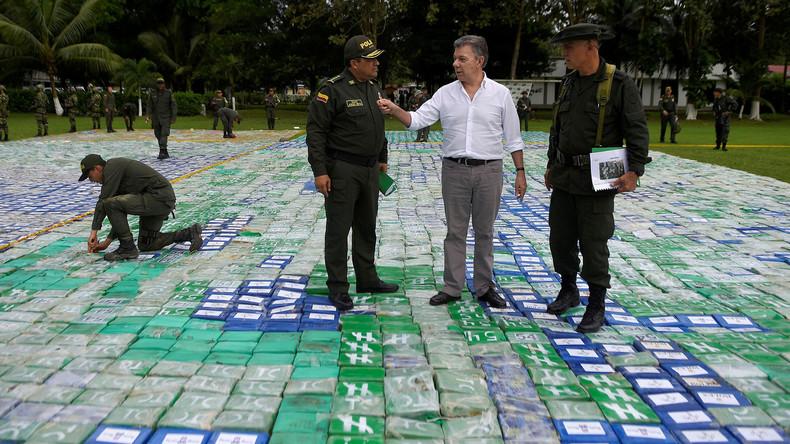 Kolumbianischer Polizei gelingt Rekordfund von zwölf Tonnen Kokain