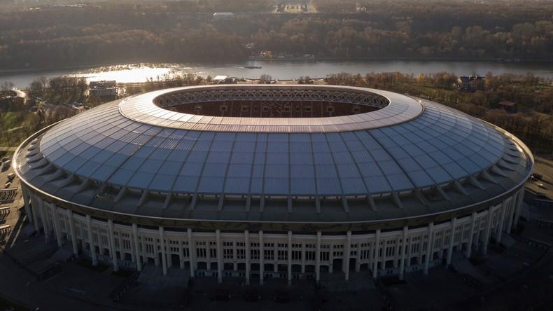 Hochmoderner Fußball-Tempel für die WM 2018: Russland eröffnet Luschniki-Stadion