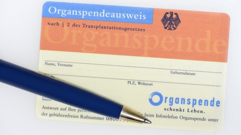 Deutsche Stiftung Organtransplantation: Organspenden auf niedrigstem Stand seit 20 Jahren
