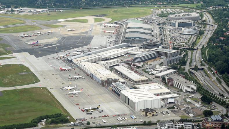 Nach Flughafensperrung in Hamburg: Eine Person weiter auf der Flucht