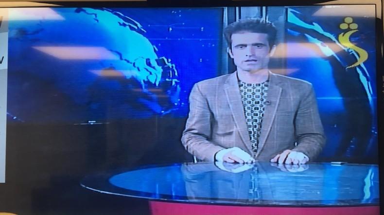 Kurz nach IS-Angriff wieder auf Sendung - Journalist in Kabul moderiert trotz Verletzung