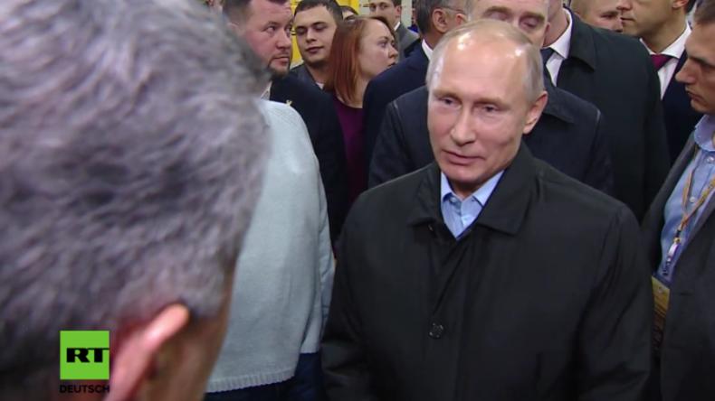 Putin: USA planen Einmischung in russische Präsidentschaftswahlen