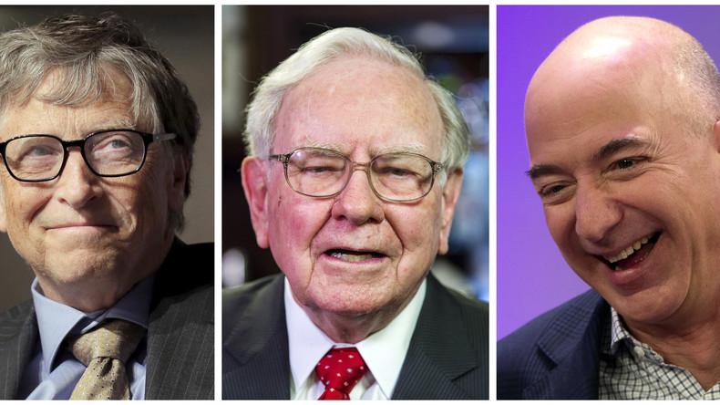 Macht Geld allein glücklich? – Drei US-Bürger sind reicher als 160 Millionen ihrer Landsleute