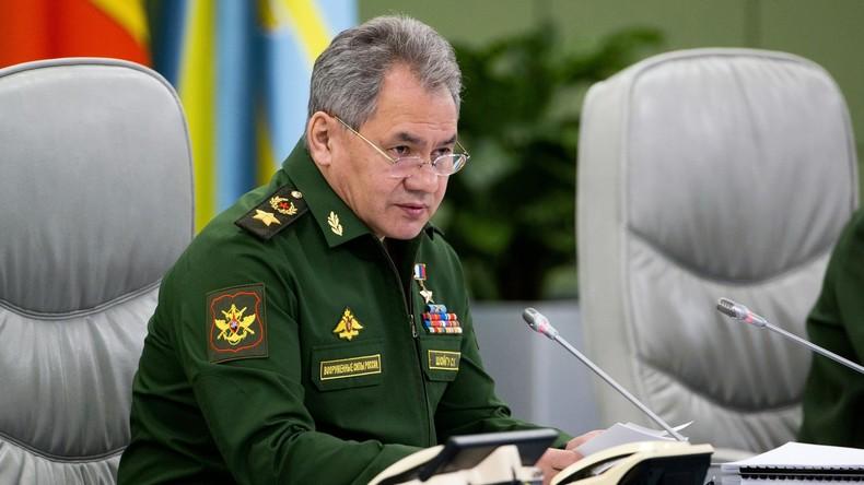 Russischer Verteidigungsminister: Zahl der Selbstmordattentäter in Syrien wächst