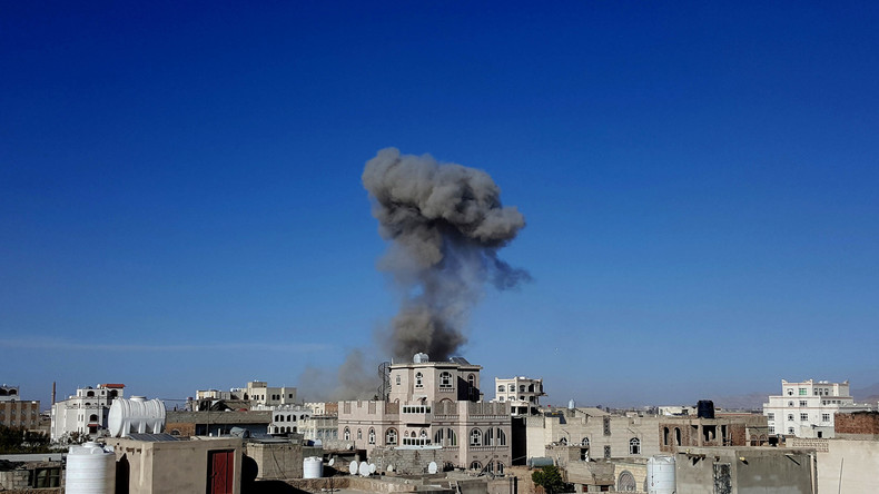 Saudi-geführte Angriffe auf Verteidigungsministerium in jemenitischer Hauptstadt