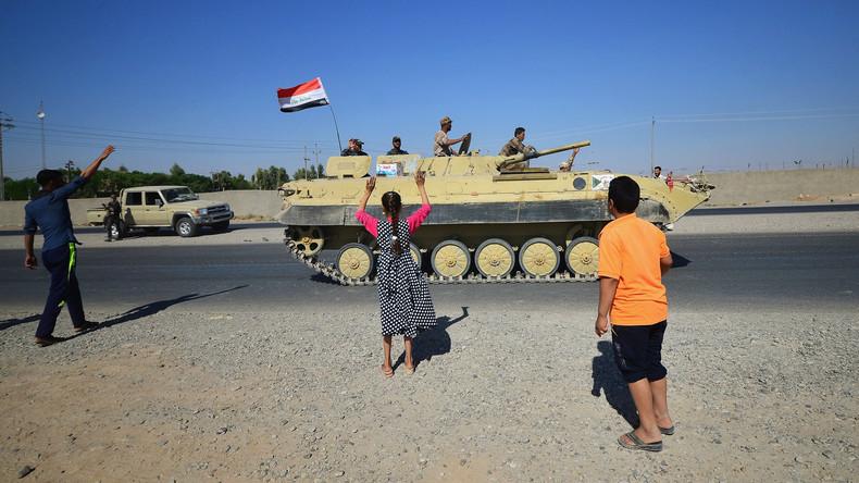 Iraks Truppen beginnen Offensive auf letzte IS-Gebiete