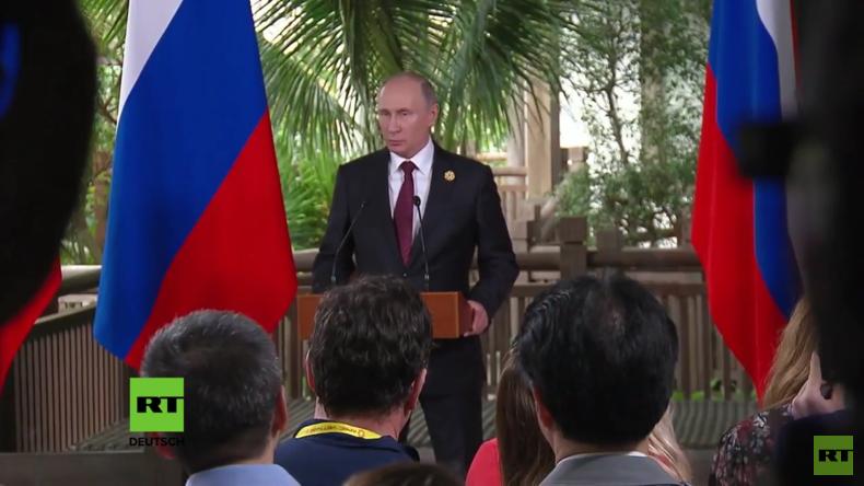 Nordkorea-Krise: Putin bittet Parteien an den Verhandlungstisch