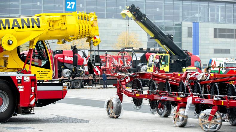 Weltleitmesse Agritechnica startet in Hannover mit über 2.800 Ausstellern