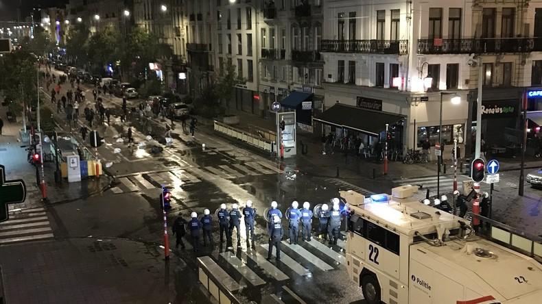 Unruhen in Brüssel nach WM-Qualifikation-Spiel - 22 Polizisten verletzt
