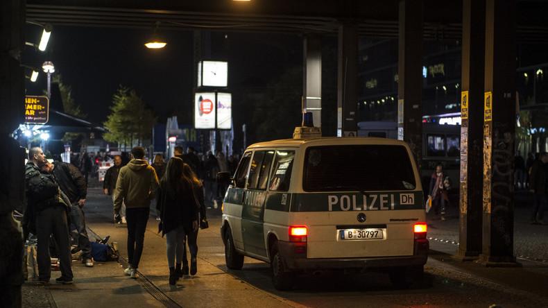 Verkehrsunfall in Berlin: Polizei nimmt Wagenmieter wegen Kokainbesitzes fest