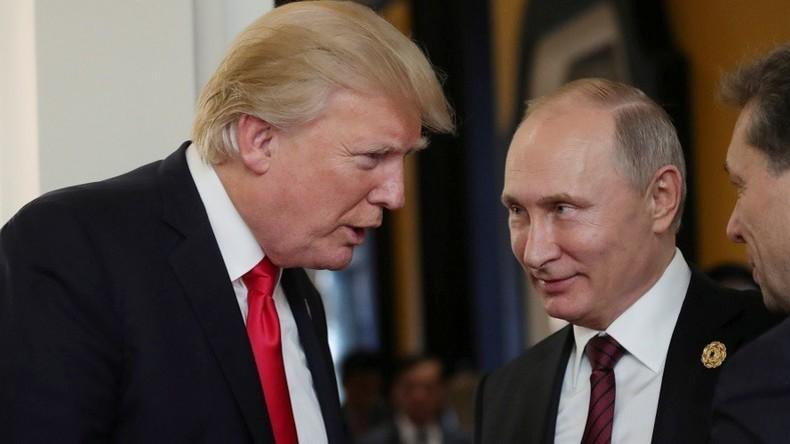 """""""Hasser und Narren"""": Trump holt gegen diejenigen aus, die gute Beziehungen zu Russland ablehnen"""