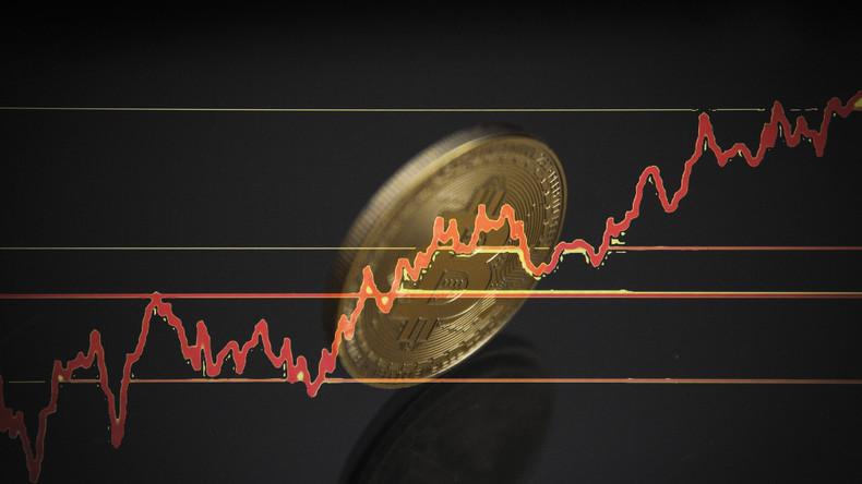 Bitcoin-Kurs nach Rekordhoch um 30 Prozent gesunken