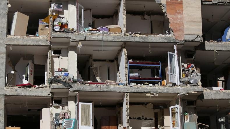 Stärkstes Erdbeben seit 30 Jahren: Bereits mehr als 300 Tote in irakisch-iranischer Grenzregion