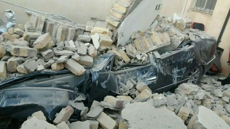 Bilder des Schreckens: Schweres Erdbeben erschüttert irakisch-iranische Grenzregion
