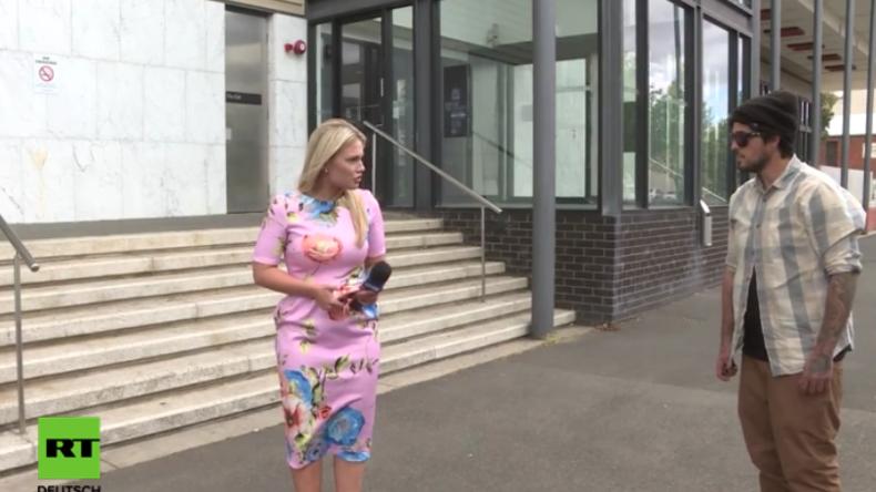 """""""Lügendes Stück Sch..."""": Fremder attackiert Reporterin - Diese erntet Respekt für souveräne Reaktion"""